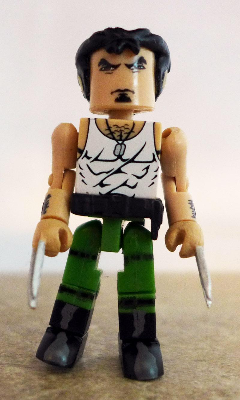 Army Wolverine Custom Minimate