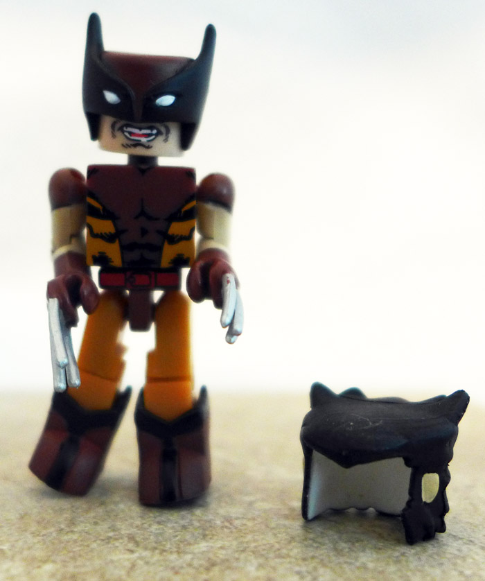 Brown Costume Wolverine Loose Minimate