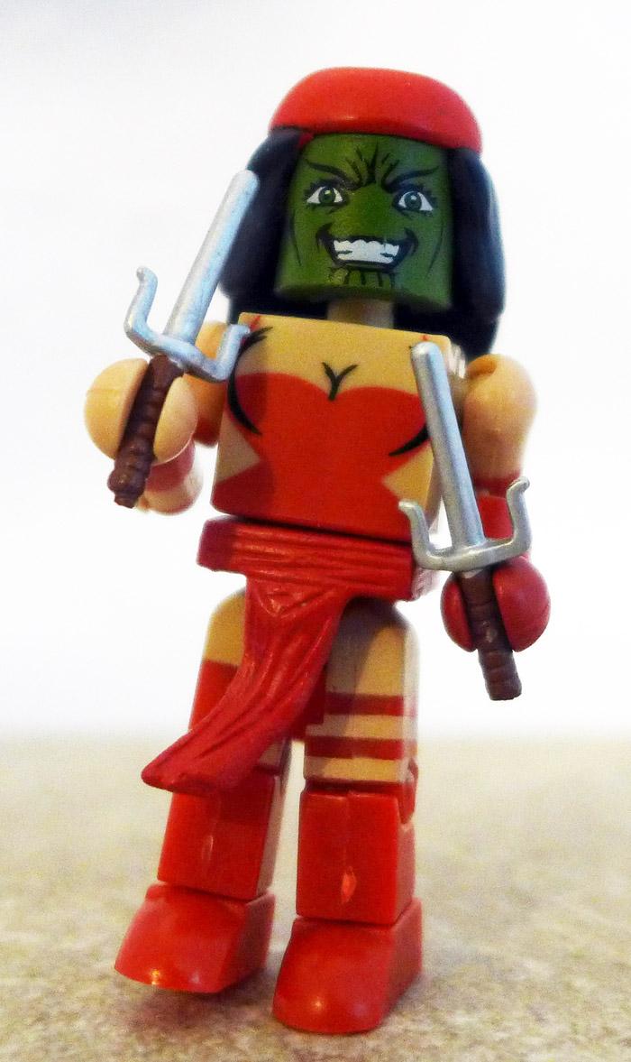 Skrull Elektra Custom Minimate