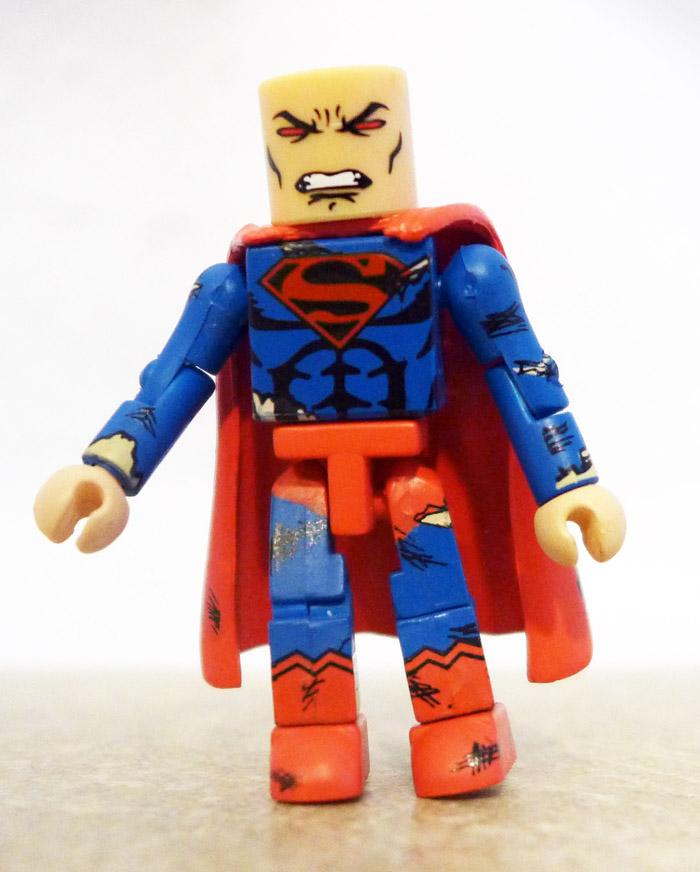 Battle Damaged Superman Partial Minimate