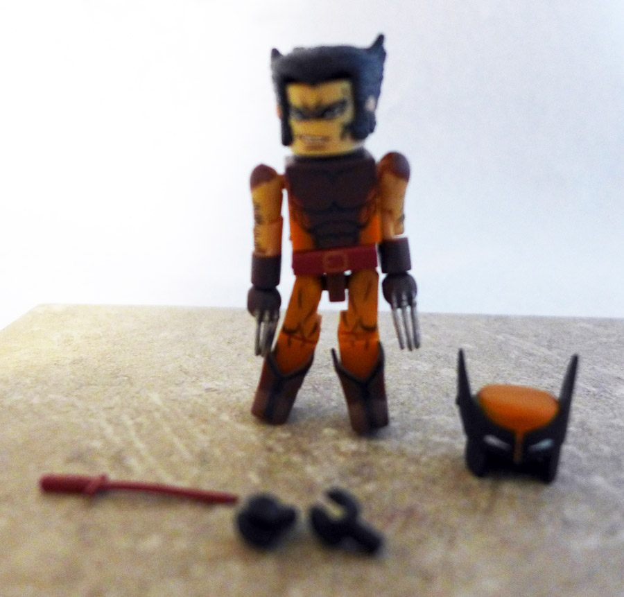 Brown Costume Wolverine Loose Minimate