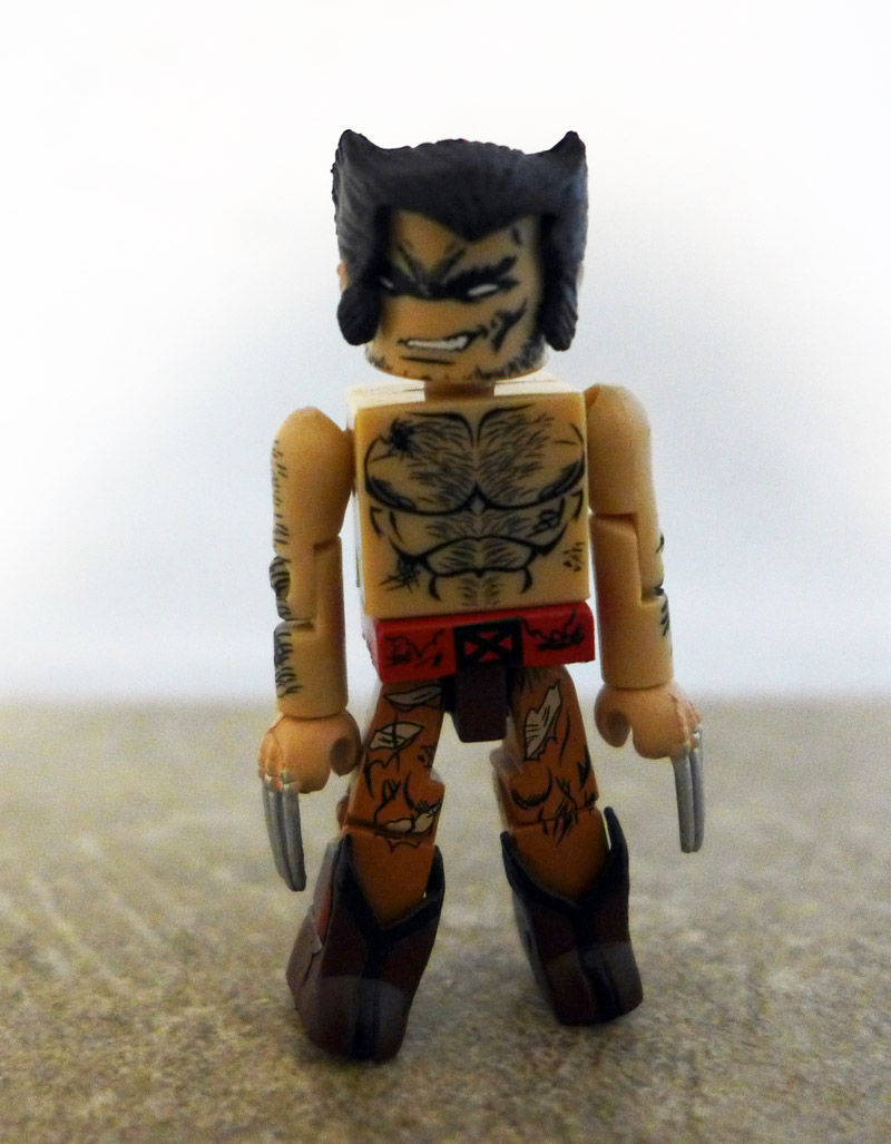 Battle Damaged Wolverine Loose Minimate
