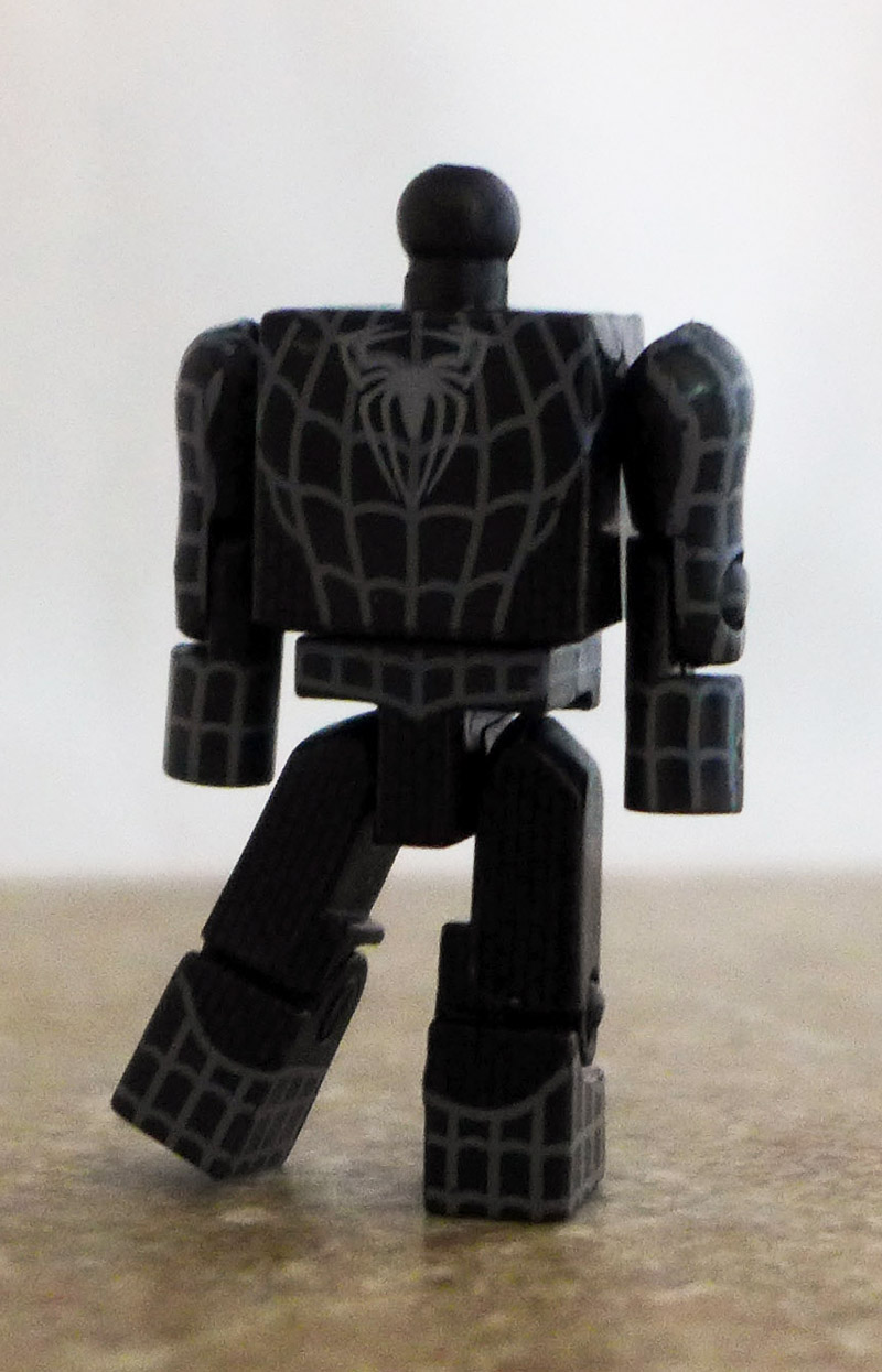 Black Costume Spider-Man Partial Minimate