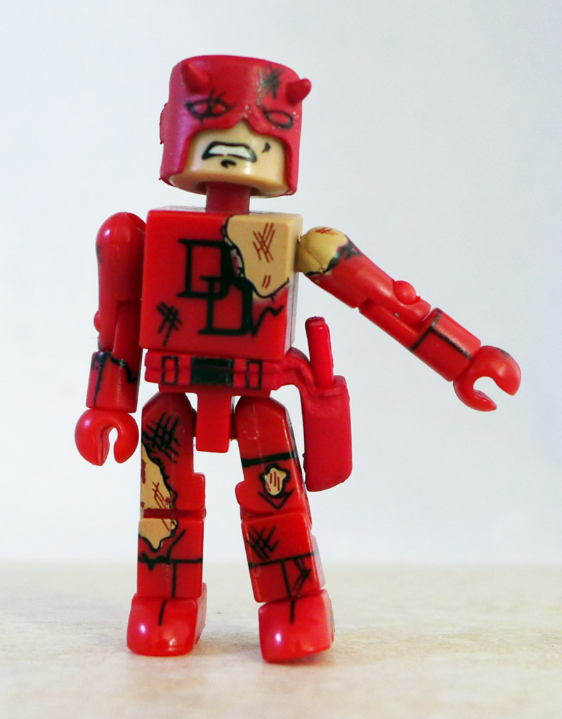Battle Damaged Daredevil Loose Minimate