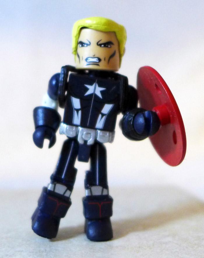 Secret War Captain America Partial Minimate