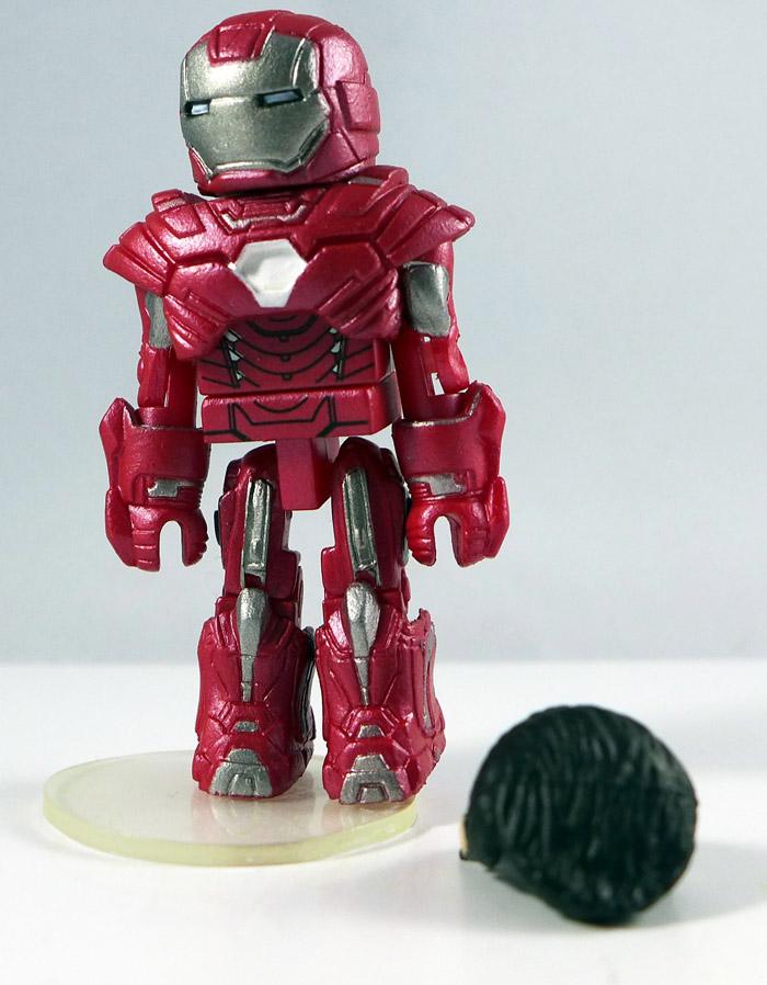 Silver Centurion Iron Man (Movie) Loose Minimate