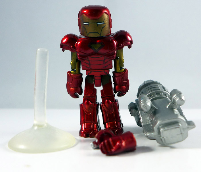 MvC Iron Man Loose Minimate