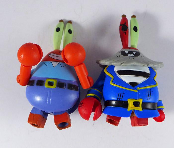 Mr. Krabs & Grandpappy Redbeard Loose Minimates