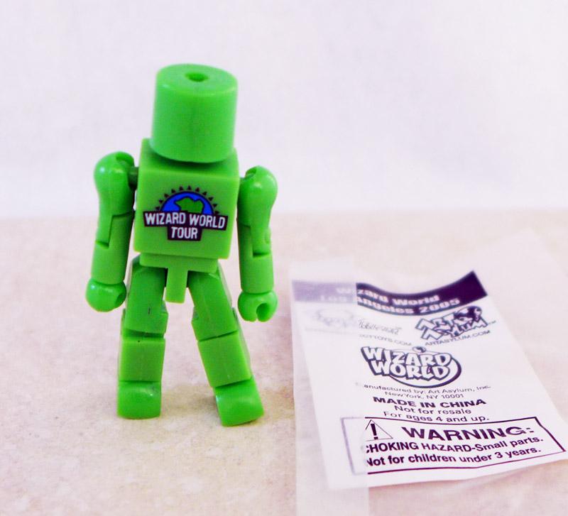 Wizard World Tour Green Promotional Minimate