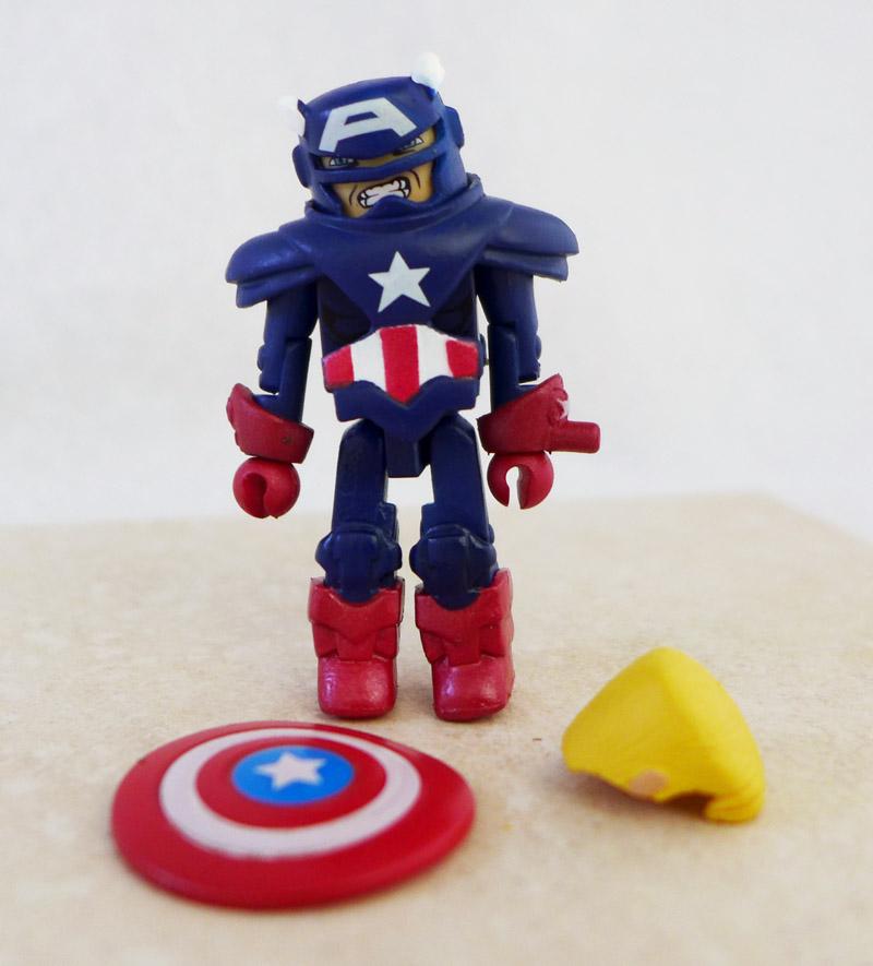 Armored Captain America Minimate