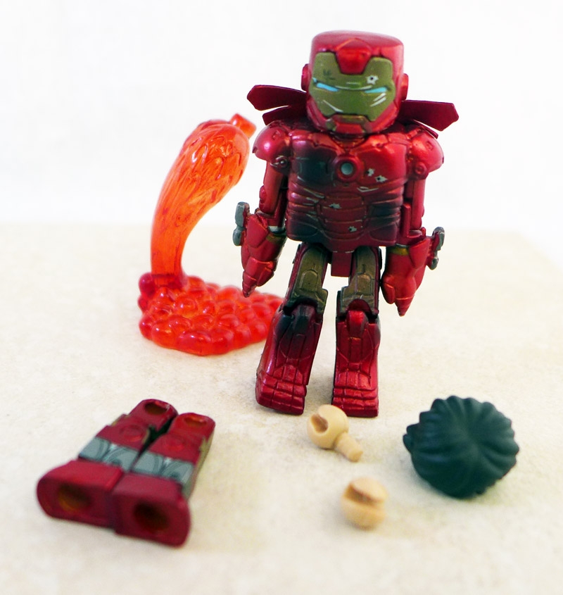 Battle Damaged Iron Man Minimate