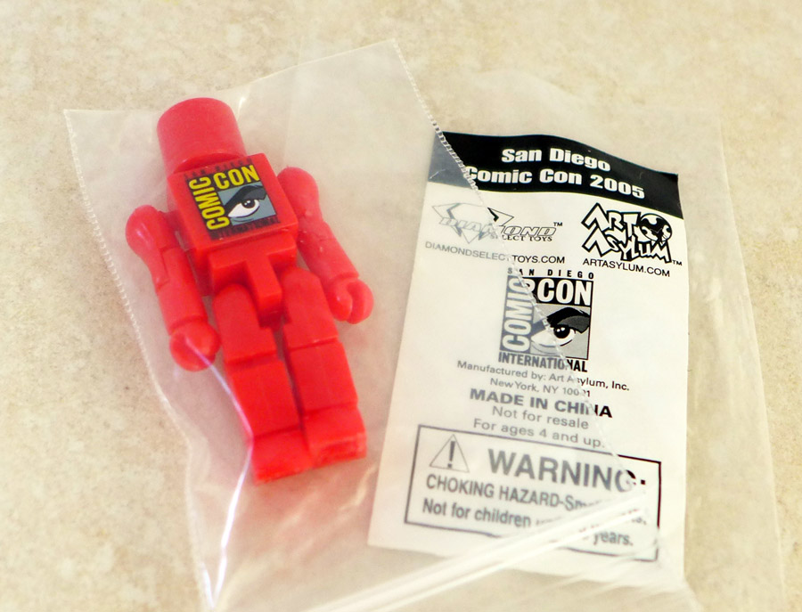 SDCC 2005 Red Promotional Minimate