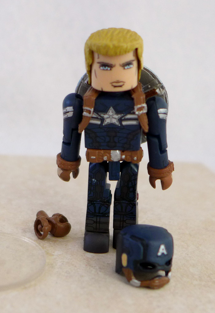 Stealth Captain America Minimate