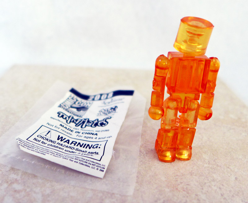 Translucent Orange Promotional Minimate