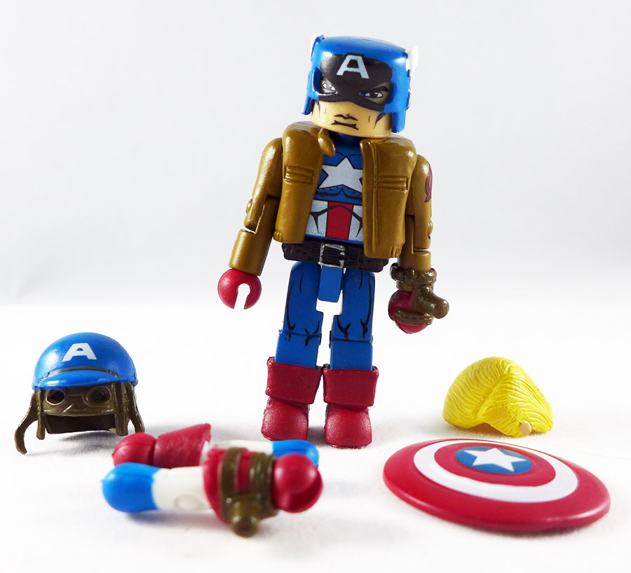Civil War Captain America Minimate