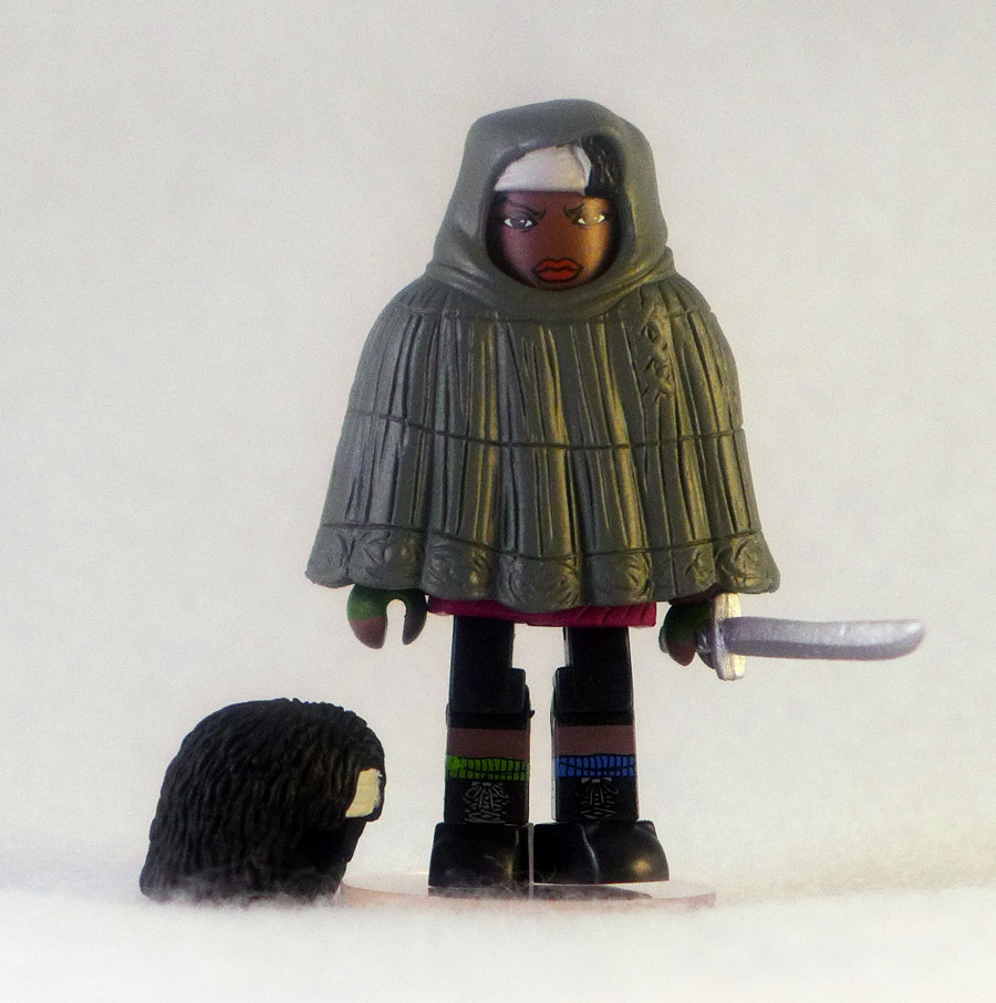 Hooded Michonne Loose Walking Dead Minimate