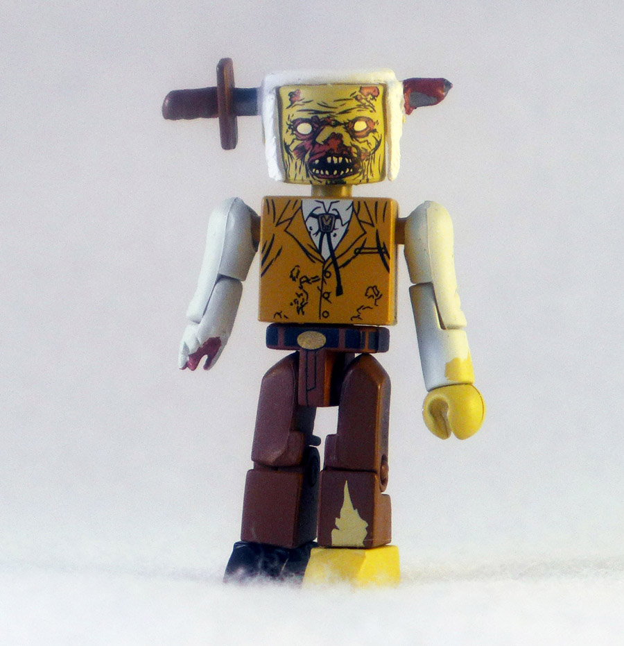 Knife Zombie Loose Walking Dead Minimate