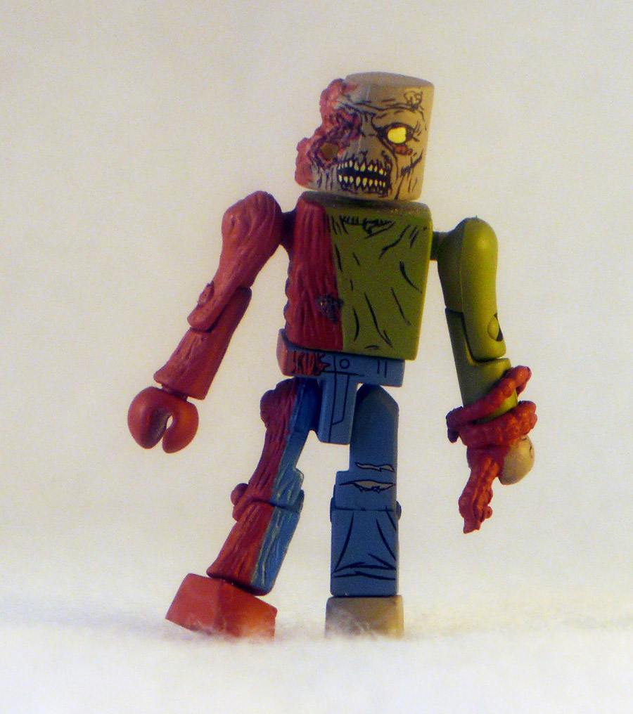 One Eyed Zombie Loose Walking Dead Minimate