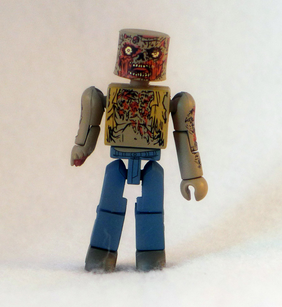 Burned Zombie Loose Walking Dead Minimate