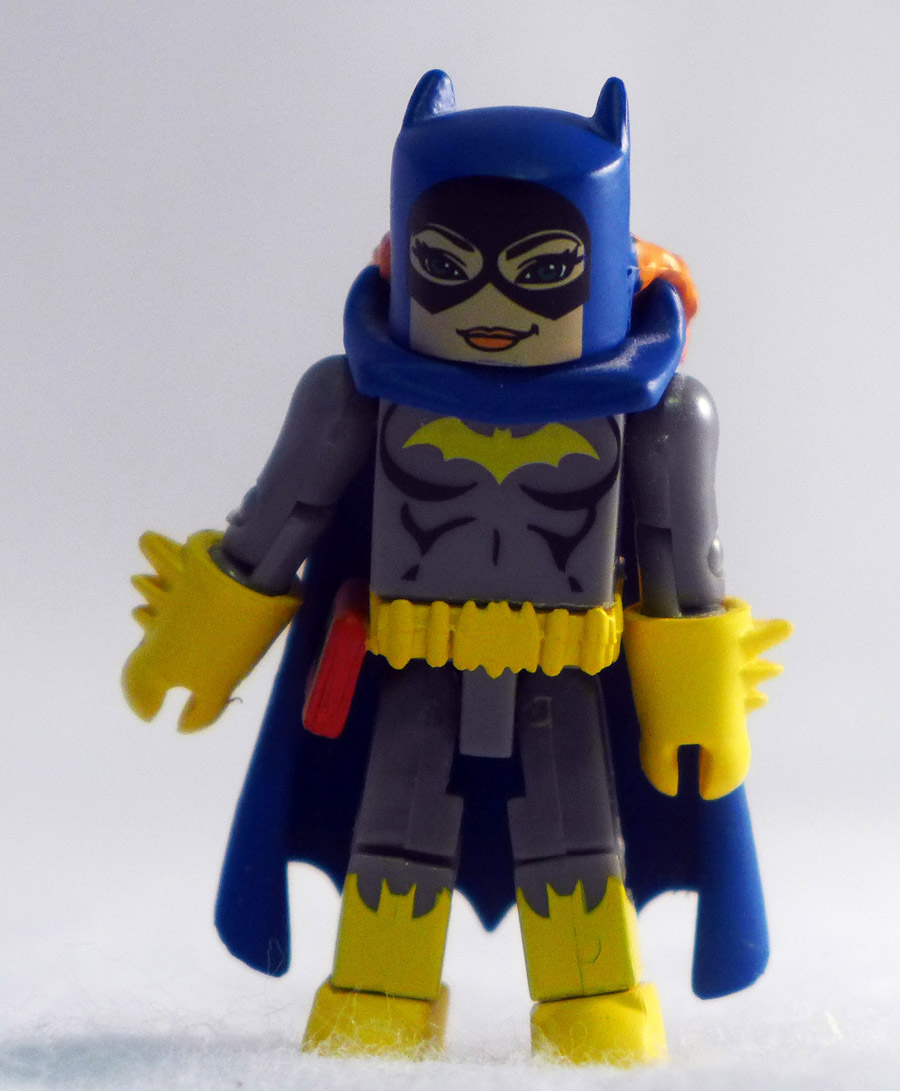 Batgirl (Missing head under mask) Loose Minimate