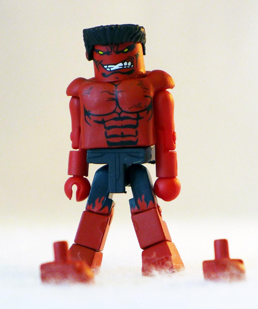 Red Hulk (Original) Loose Minimate