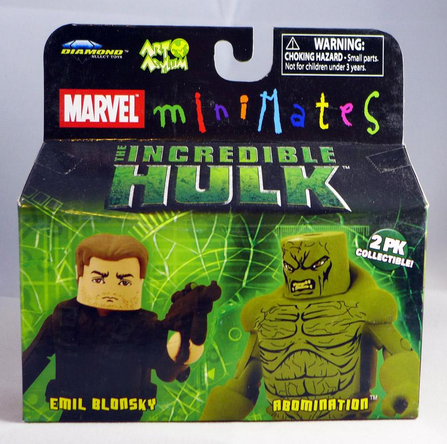 Emil Blonsky & Abomination Minimates