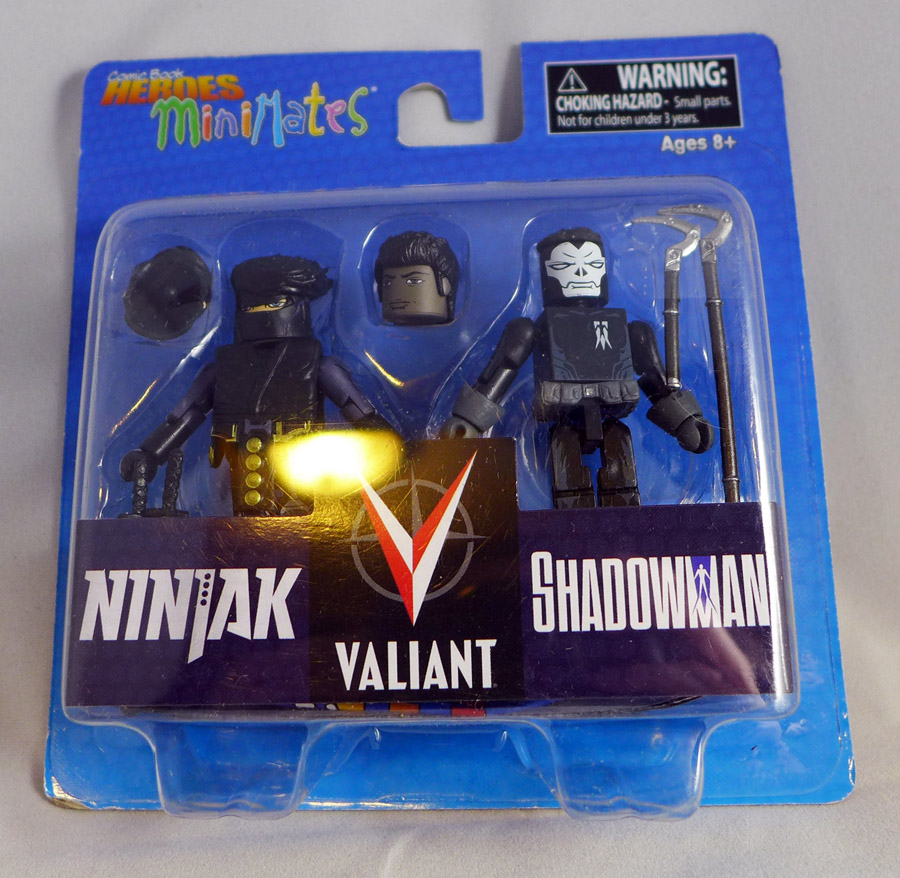 Ninjak & Shadowman Minimates