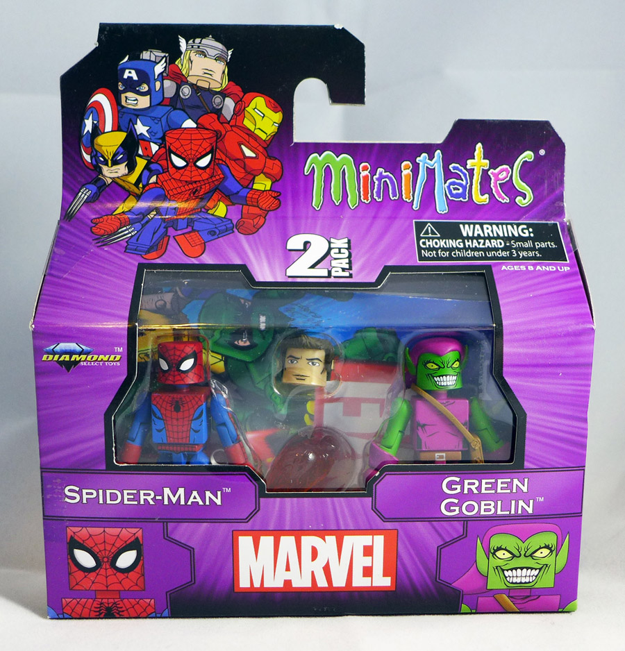 Best of Marvel Minimates Spider-Man & Green Goblin