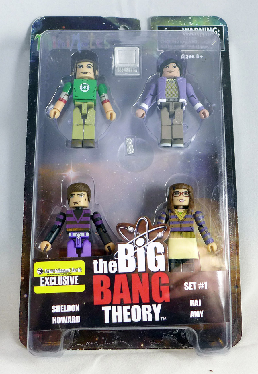 Big Bang Theory Minimates Series 1 Box Set