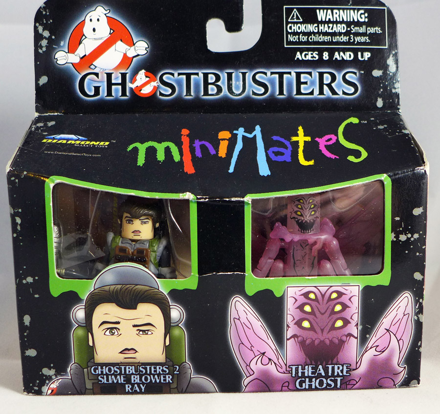 Slime Blower Ray & Theatre Ghost Minimates