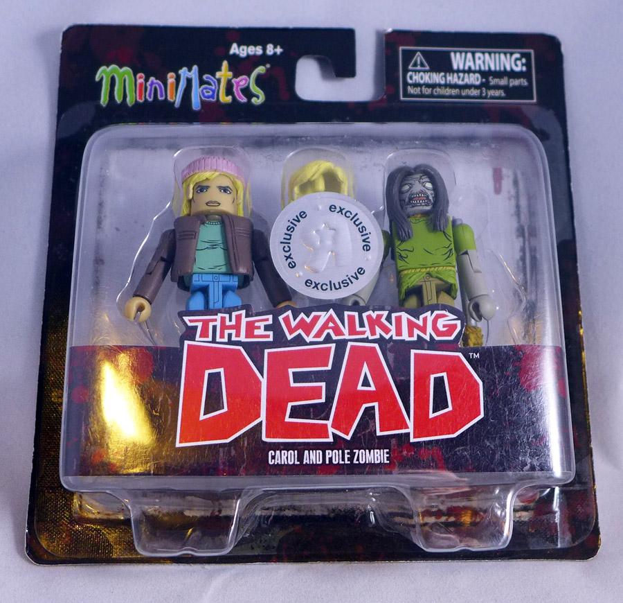 Carol & Pole Zombie Minimates