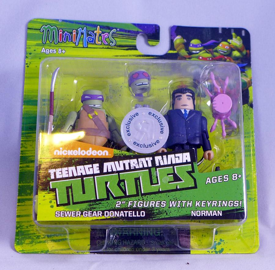 Sewer Gear Donatello & Norman Minimates