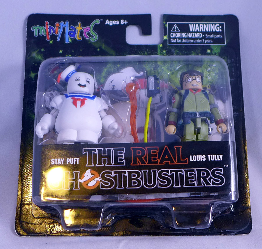 Real Ghostbusters Stay Puft & Louis Tully Minimates