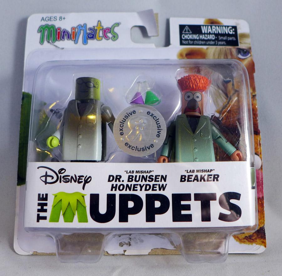 Lab Mishap Dr Bunsen & Beaker Minimates