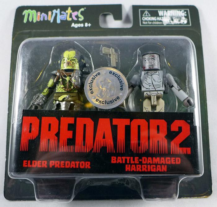 TRU Elder Predator & BD Harrigan Minimates