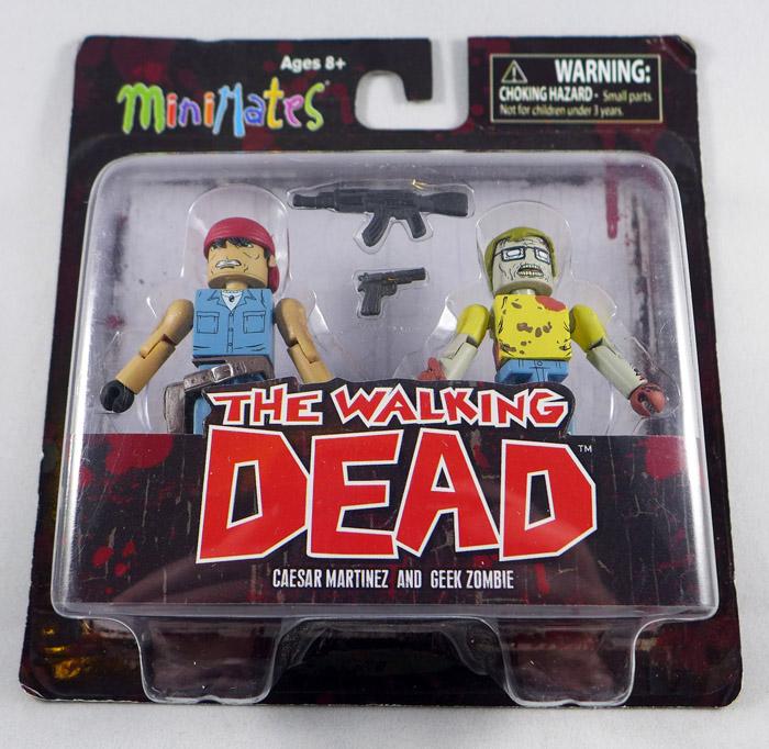 Martinez & Geek Zombie Minimates