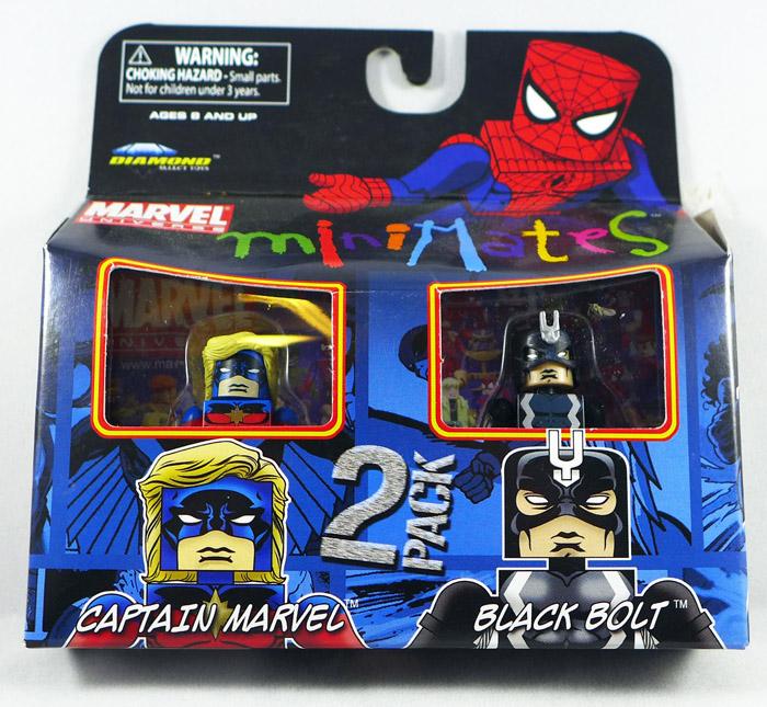 Captain Marvel & Black Bolt Minimates