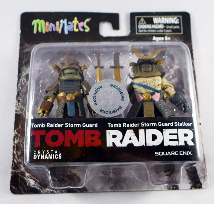 Tomb Raider Storm Guard & Stalker Minimates