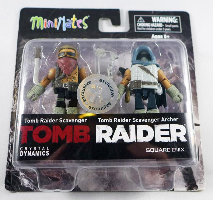 Tomb Raider Scavenger & Archer Minimates