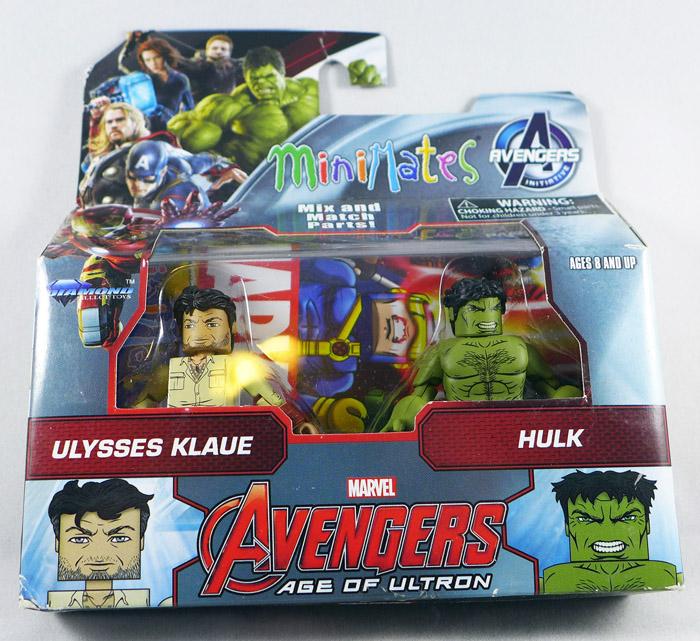 Klaue & Hulk Minimates