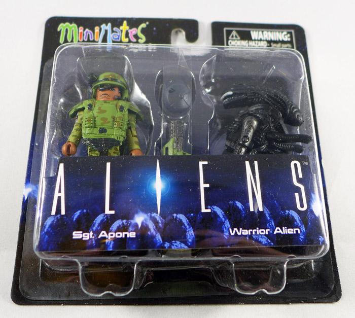 Sgt. Apone & Warrior Alien Minimates