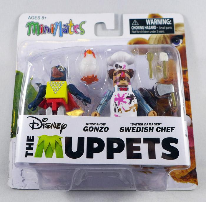 Stunt Show Gonzo & Swedish Chef Minimates