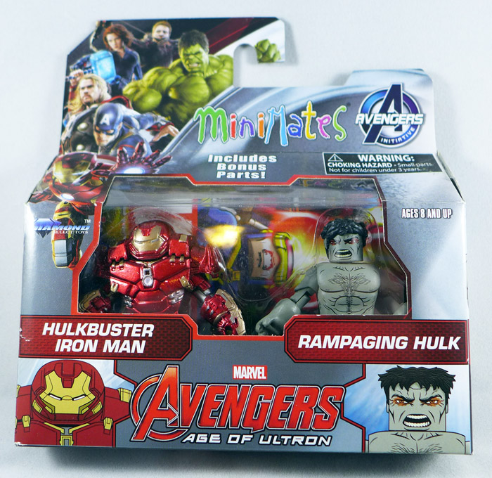 Hulkbuster Iron Man & Rampaging Hulk Minimates