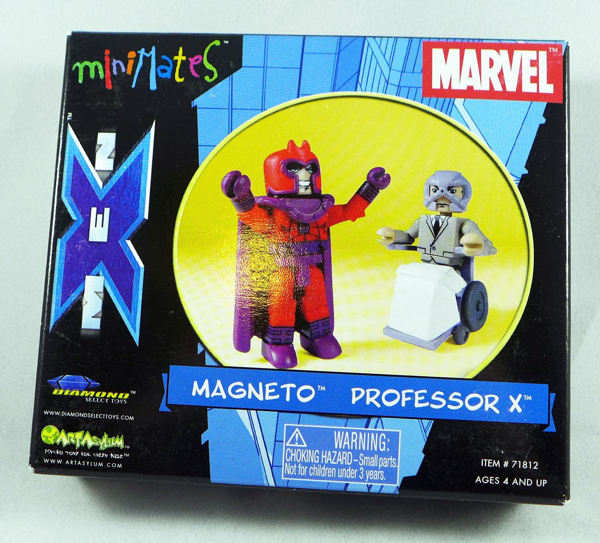Magneto & Professor X Minimates