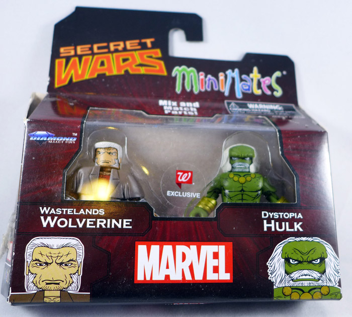 Wastelands Wolverine & Dystopia Hulk Minimates