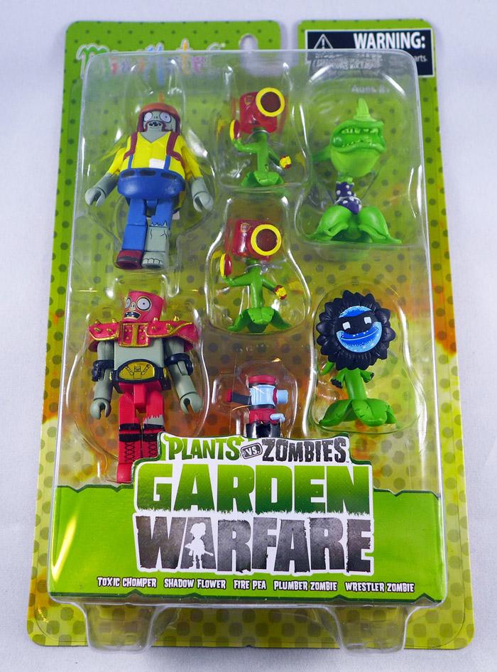 Plants vs Zombies Minimates