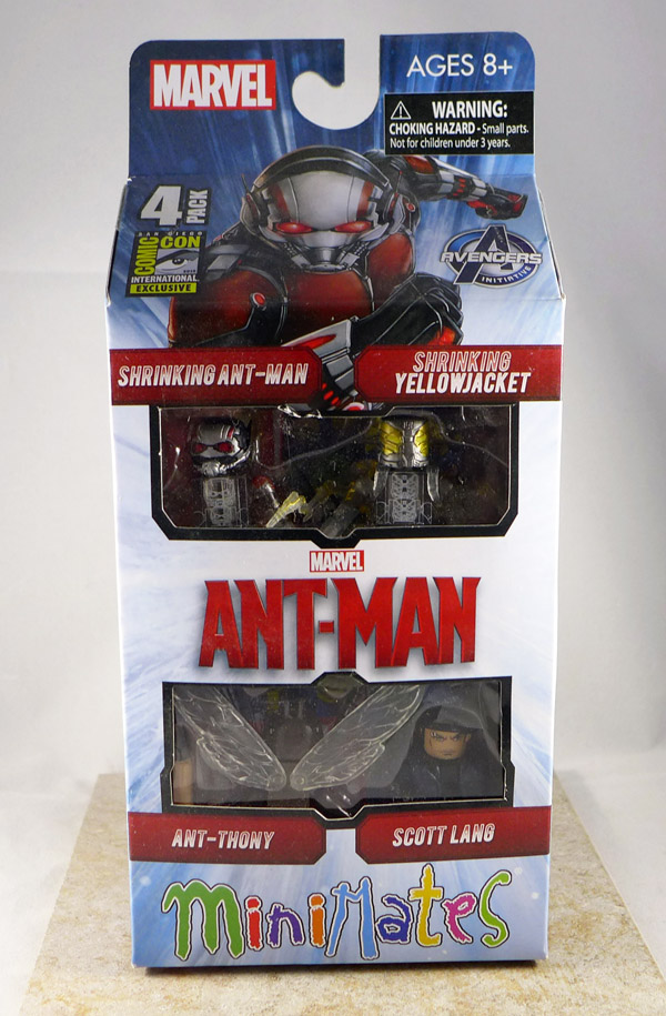 Ant-Man Movie Minimates Box Set
