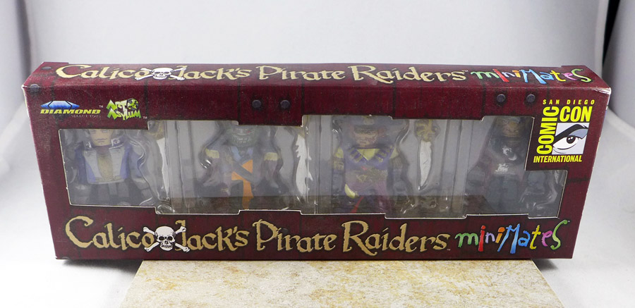 Calico Jack's Pirate Raiders Minimates Box Set (SDCC 2011 Exclusive)