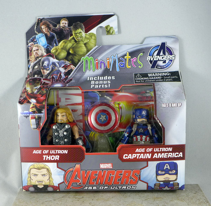 Age of Ultron Thor & Age of Ultron Captain America Minimates (Wave 61)