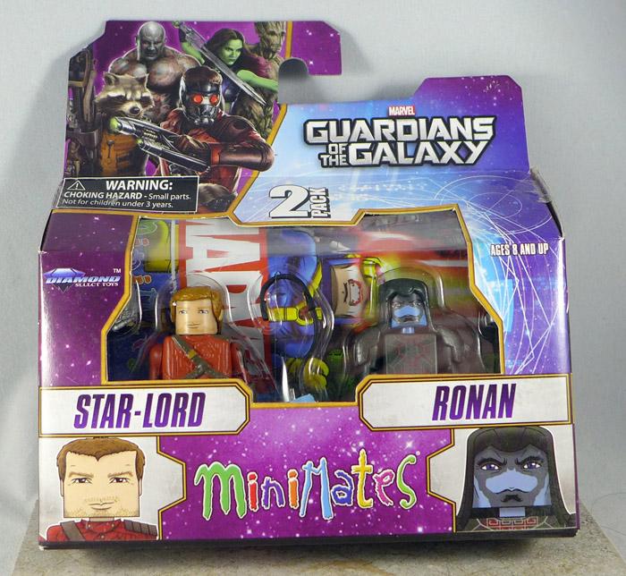 Star-Lord & Ronan Minimates (Wave 57)